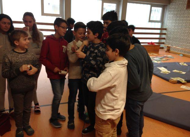 Workshop mit Heidemarie Brosche, Januar 2018, Foto: Deutsche Akademie für Kinder- und Jugendliteratur