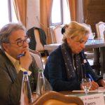 Teilnehmende des Fachforums: Kinderliteraturhistoriker Prof. Dr. Hans-Heino Ewers und Eselsohr-Herausgeberin Christine Paxmann