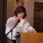 """Dr. Sabine Fuchs (Graz) näherte sich dem Forschungsgestand """"Bambi"""" vom literaturdidaktischen Standpunkt und analysierte, wie Tiere von Menschen wahrgenommen werden."""