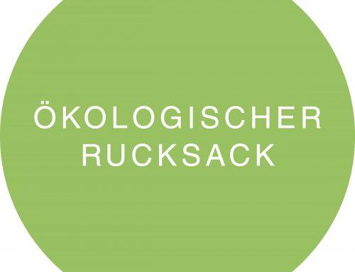 Ökologischer Rucksack 2019: Wald