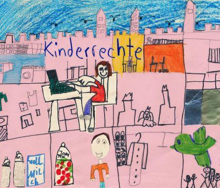 Eine Projektarbeit zum Thema Kinderrechte © & Foto: Patricia Thoma
