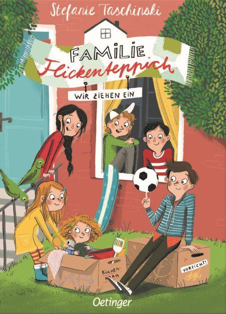 Taschinski: Familie Flickenteppich (Oetinger 2019)