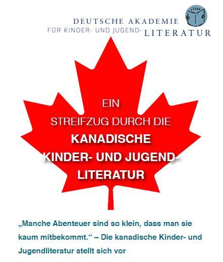 Kanada-Flyer (Coverdetail)