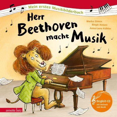 Simsa: Herr Beethoven macht Musik (Annette Betz 2020)