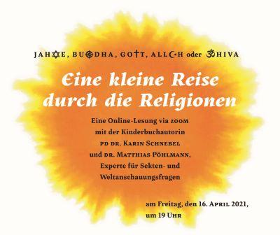 Lesung Religionen (16.04.2021), Gestaltung: Markus Lefrançois