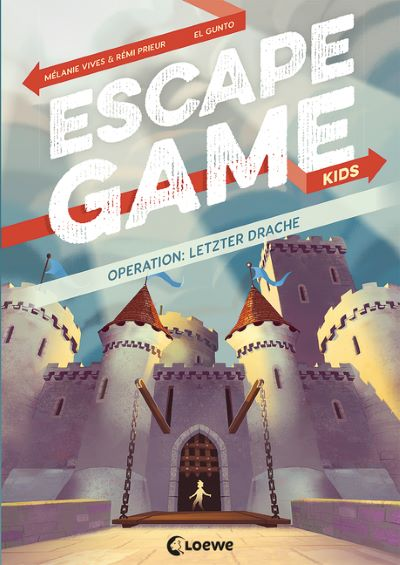 Vives & Prieur: Escape Game Kids - Operation: Letzter Drache (Loewe 2020)