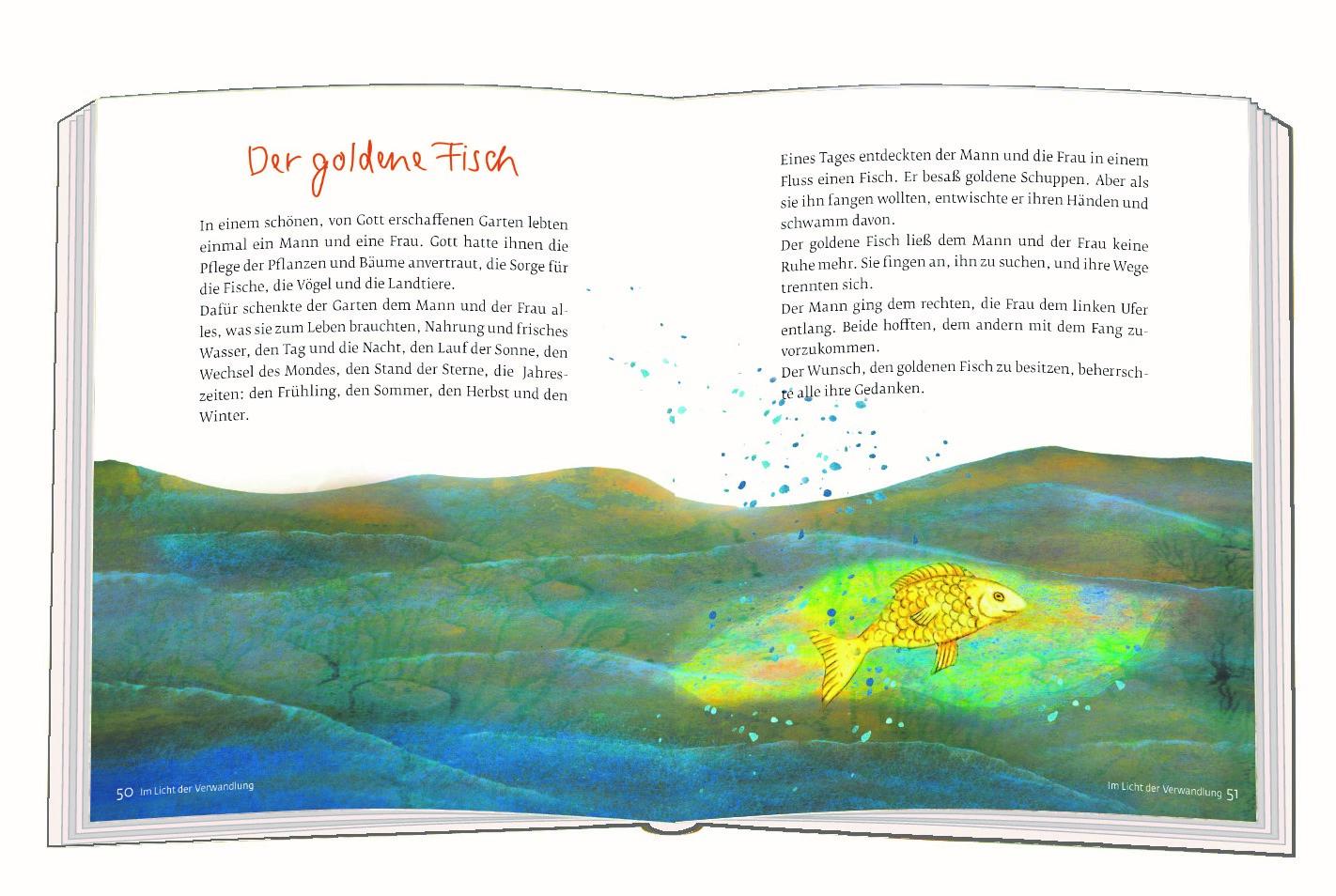 Max Bolligers goldener Fisch im Sonnengeheimnis (Verlag am Eschbach 2018)