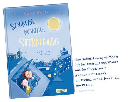 Online-Lesung mit Anna Woltz (16.07.2021)