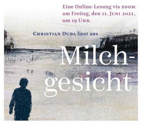 Online-Lesung mit Christian Duda (11.06.2021)