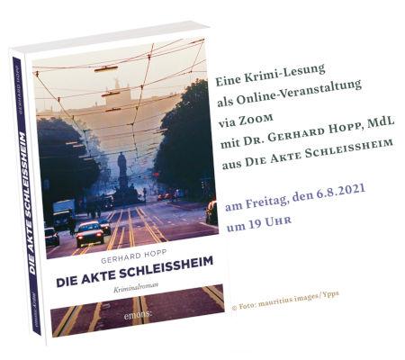 Online-Lesung mit Gerhard Hopp (06.08.2021)