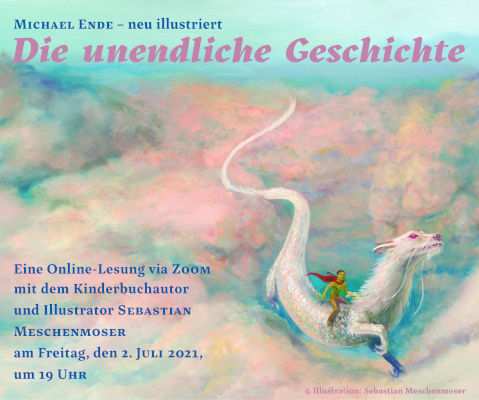 Online-Lesung mit Sebastian Meschenmoser (16.07.2021)