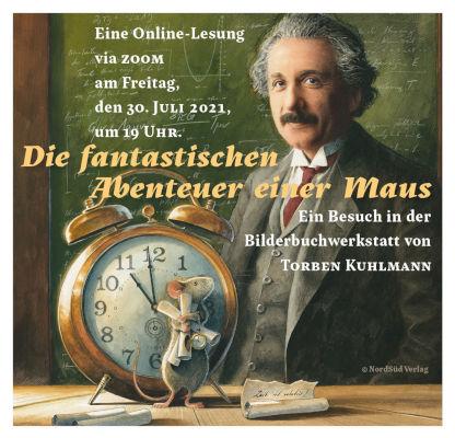 Online-Lesung mit Torben Kuhlmann (30.07.2021)
