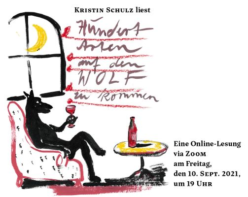 Online-Lesung mit Kristin Schulz (10.09.2021)