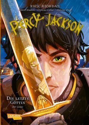 Riordan: Percy Jackson - Die letzte Göttin (Carlsen 2021)