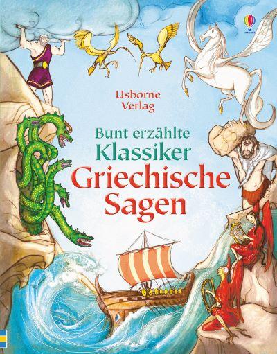 Punter: Bunt erzählte Klassiker - Griechische Sagen (Usborne 2017)