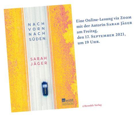 Online-Lesung mit Sarah Jäger (17.09.2021)