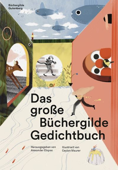 Elspas/Maurer: Das große Büchergilde Gedichtbuch (Büchergilde Gutenberg 2021)