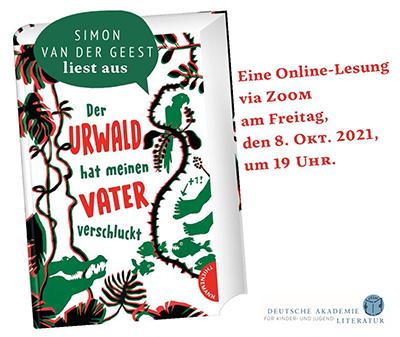 Vivat Vielfalt! Online-Lesung mit Simon van der Geest (08.10.2021)